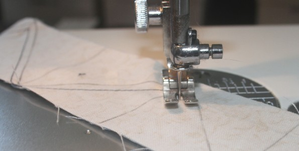 hst strip grid sew