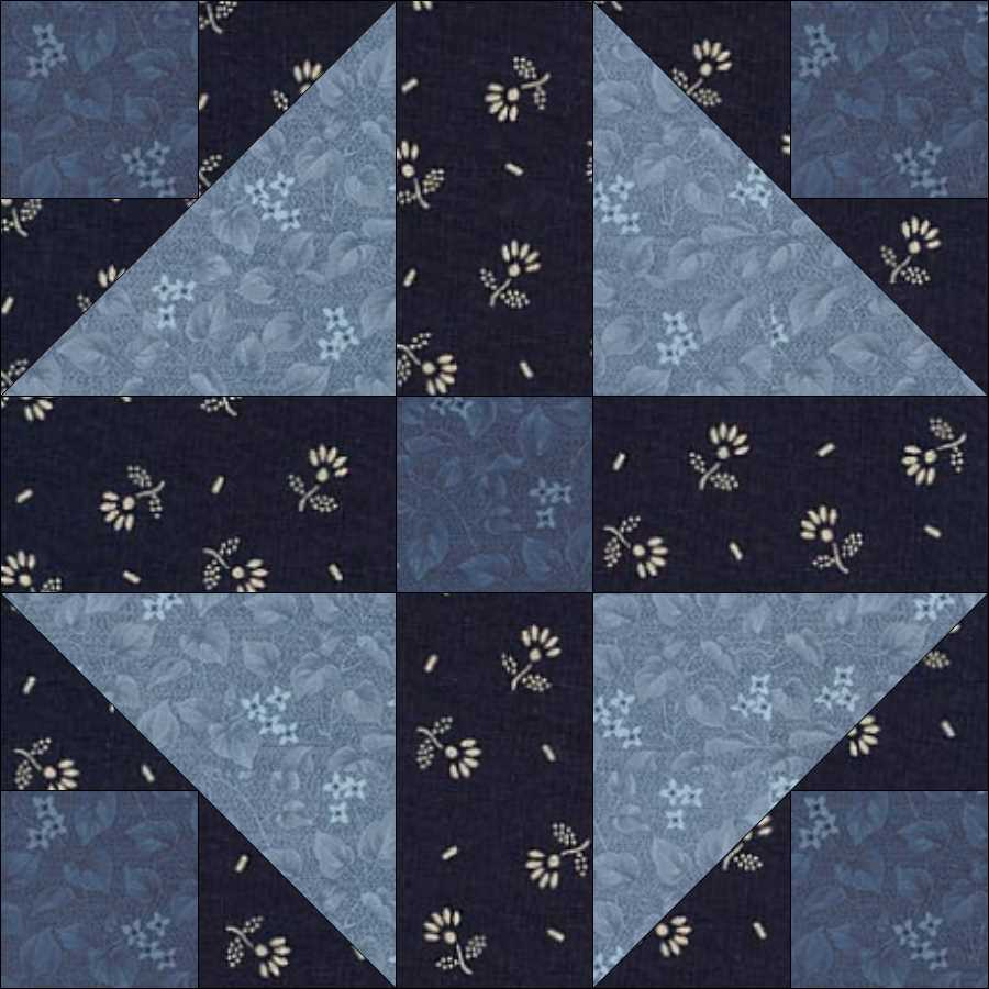 14 French Patchwork